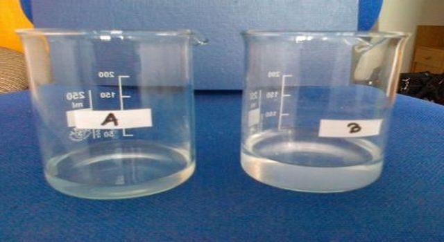 rozdíl v odpařování vody