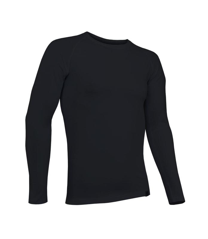 93e16c32456b ... dlouhým rukávem se stříbrem. Pánské sportovní tričko s antibakteriální  složkou nanostříbra. černé