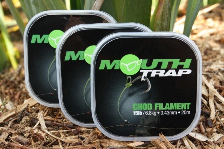 Korda Návazcový vlasec Mouth Trap 15lb 0,43mm 20m