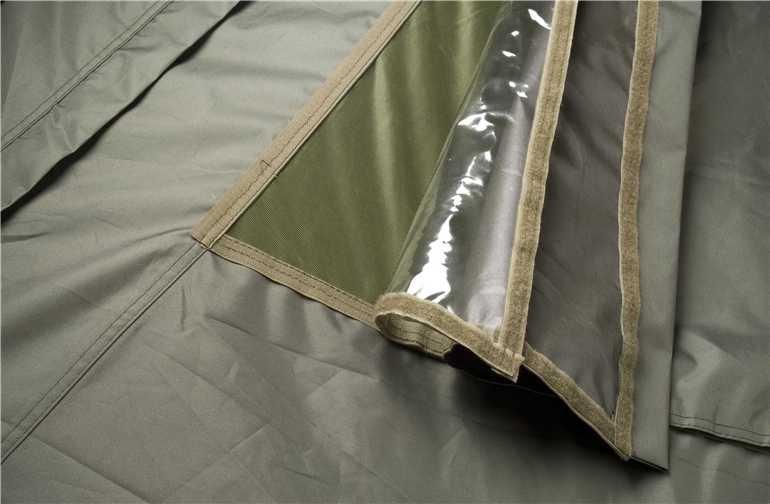Mivardi PVC Kryty Předních Oken na Bivak New Dynasty XL