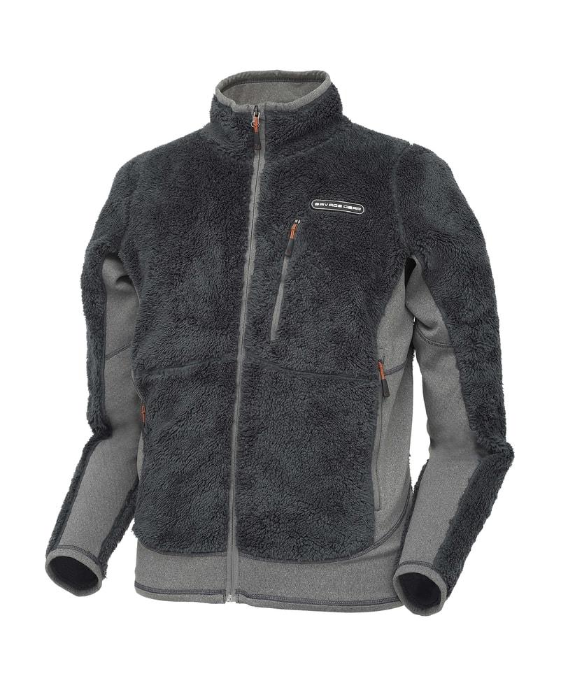 Savage Gear Fleecová mikina High Loft Fleece Jacket - S