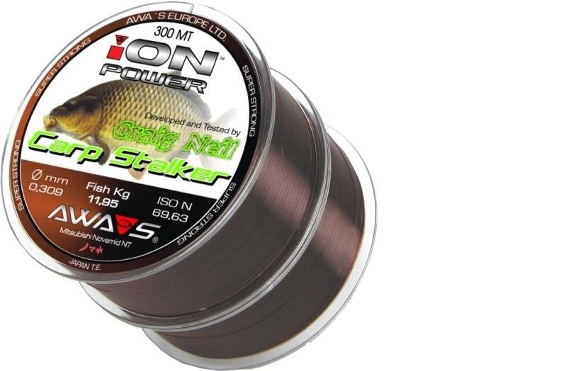 Awa-S Vlasec Ion Power Carp Stalker 2x300m - 0,25mm