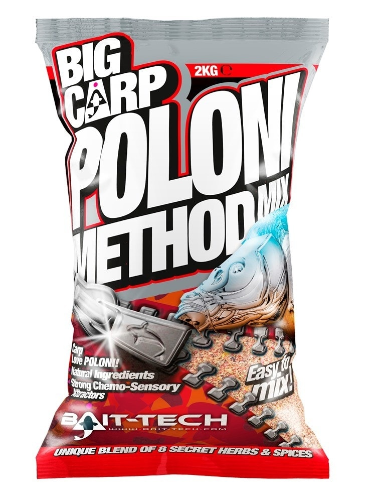 Bait-Tech Krmítková směs Big Carp Method Mix Poloni 2kg