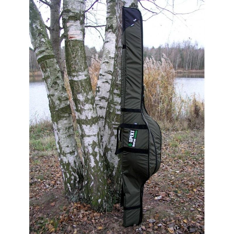R-Spekt Polstrované pouzdro na pruty TRIPLE khaki - 11´ 180cm