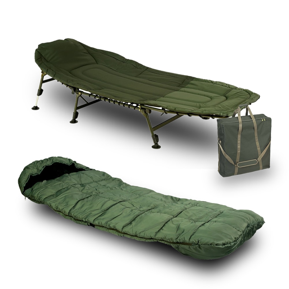 Giants Fishing Lehátko Specialist Bedchair 6Leg + spací pytel + taška!