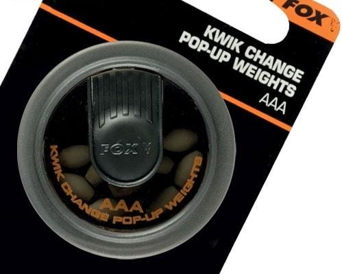 Fox Rychlovýměnné závažíčka Edges Kwick Change Pop Up Weights - SA