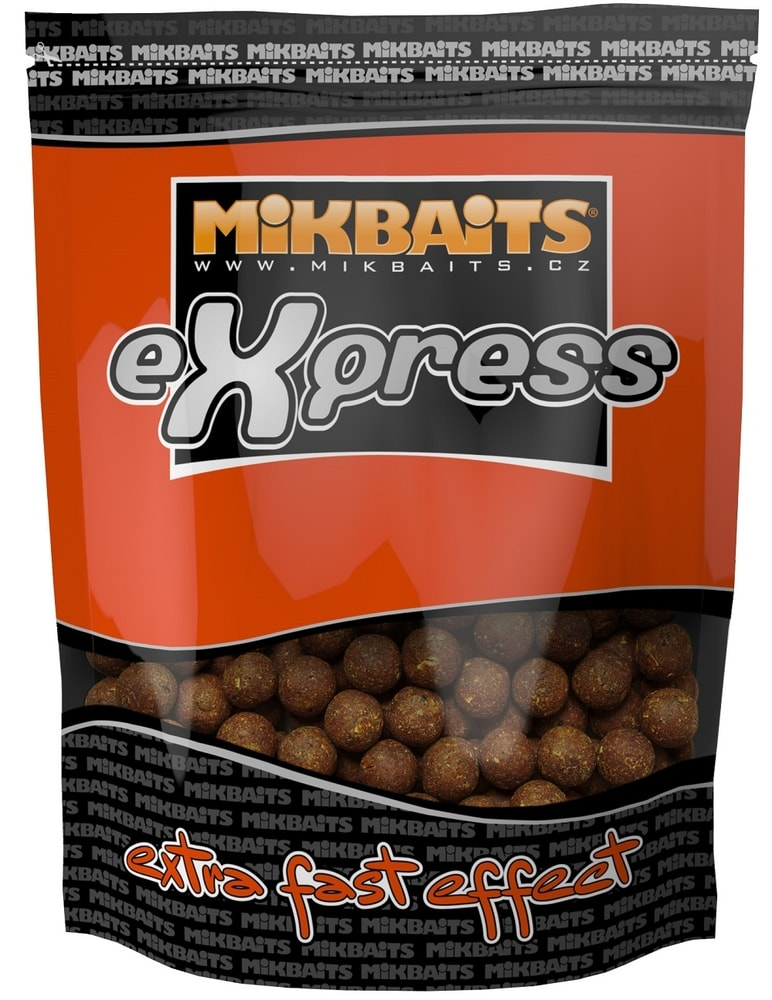 Mikbaits Boilie eXpress 18mm 1kg - Ananas N-BA