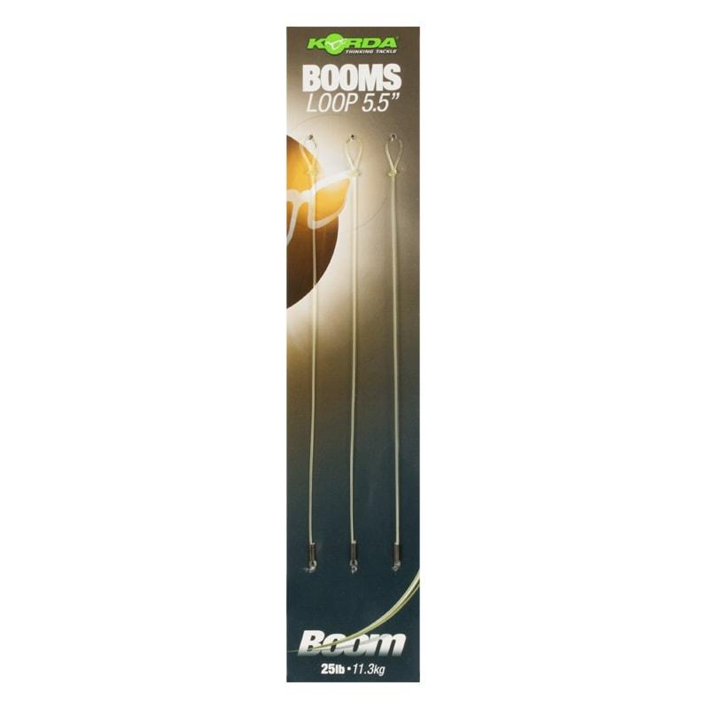 Korda Návazec Ready Tied Boom Loop 25lb 3ks - 14cm