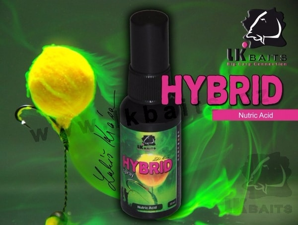 LK Baits Hybrid Spray 50ml - | Nutric Acid