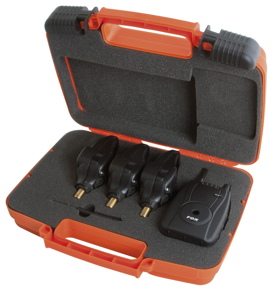 Fox Sada hlásičů Micron MXr+ Multi Colour Set - 3+1 Red,Orange,Green