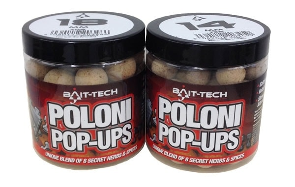 Fotografie Bait-Tech Boilies Poloni Pop-Ups 18mm 70g