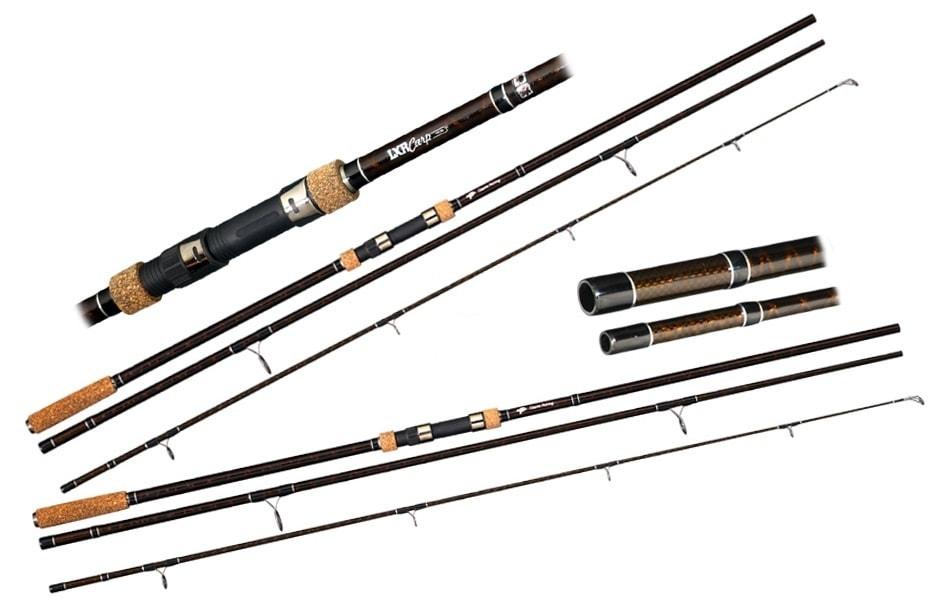 Giants Fishing Prut LXR Carp 12ft 3lb AKCE 1+1 ZDARMA! - Giants Fishing LXR Carp 3,6 m 3 lb 3 díly