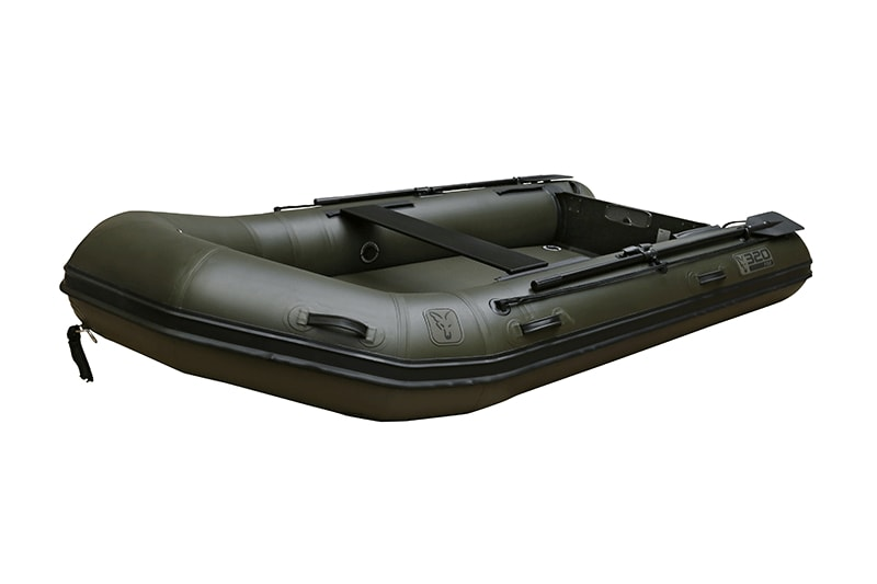 Fox Nafukovací člun 320 Green Inflable Boat 3,2m - Air Deck Black