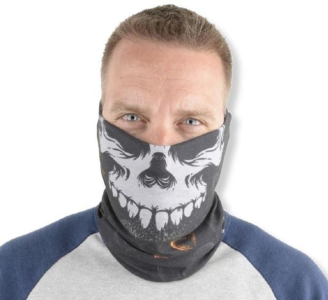 Savage Gear Nákrčník Skull Tec-Tube