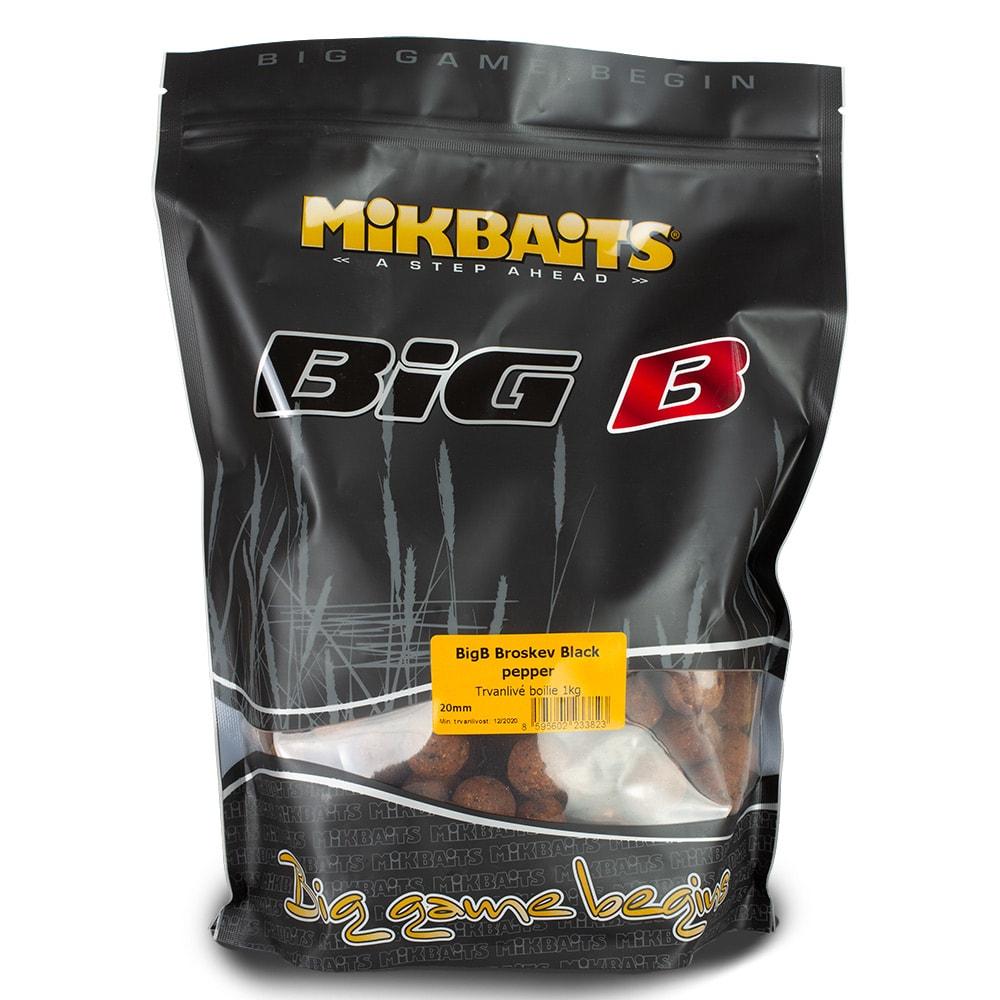 Mikbaits boilies Legends 1kg 24mm BigMiKs + BigS Oliheň&Javor
