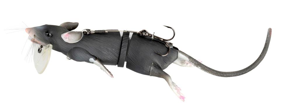 Savage Gear Nástraha 3D Potkan - Black