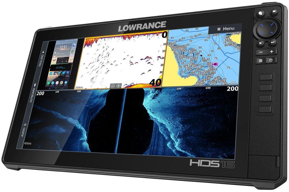 Sonary na ryby Lowrance Echolot HDS LIVE 16 se sondou Active Imaging 3v1 + baterie + nab�je?ka ZDARMA