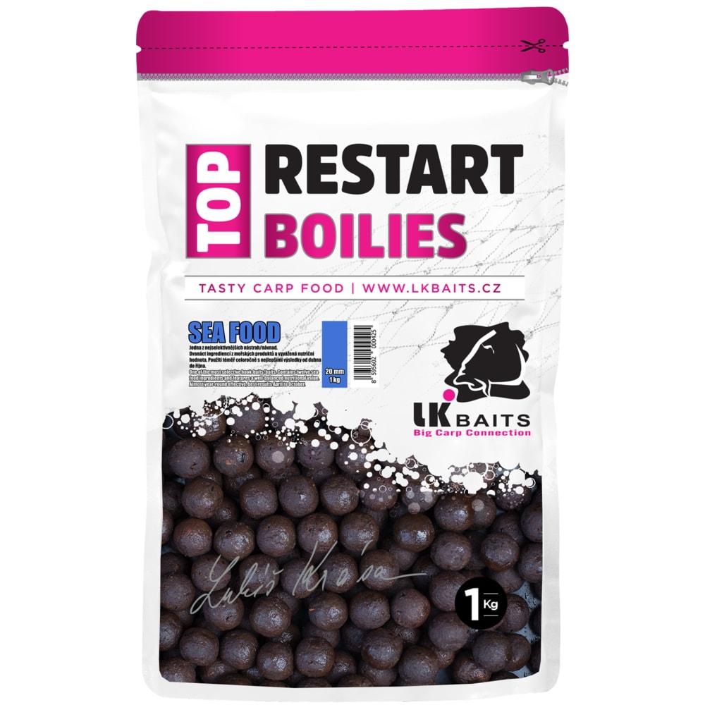 LK Baits Boilie Top ReStart Boilies Sea Food 24mm, 1kg