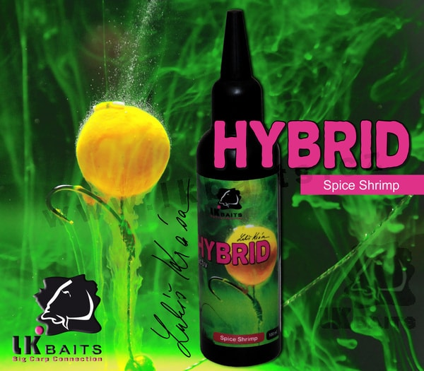 LK Baits Hybrid Activ 100ml - | Spice Shrimp