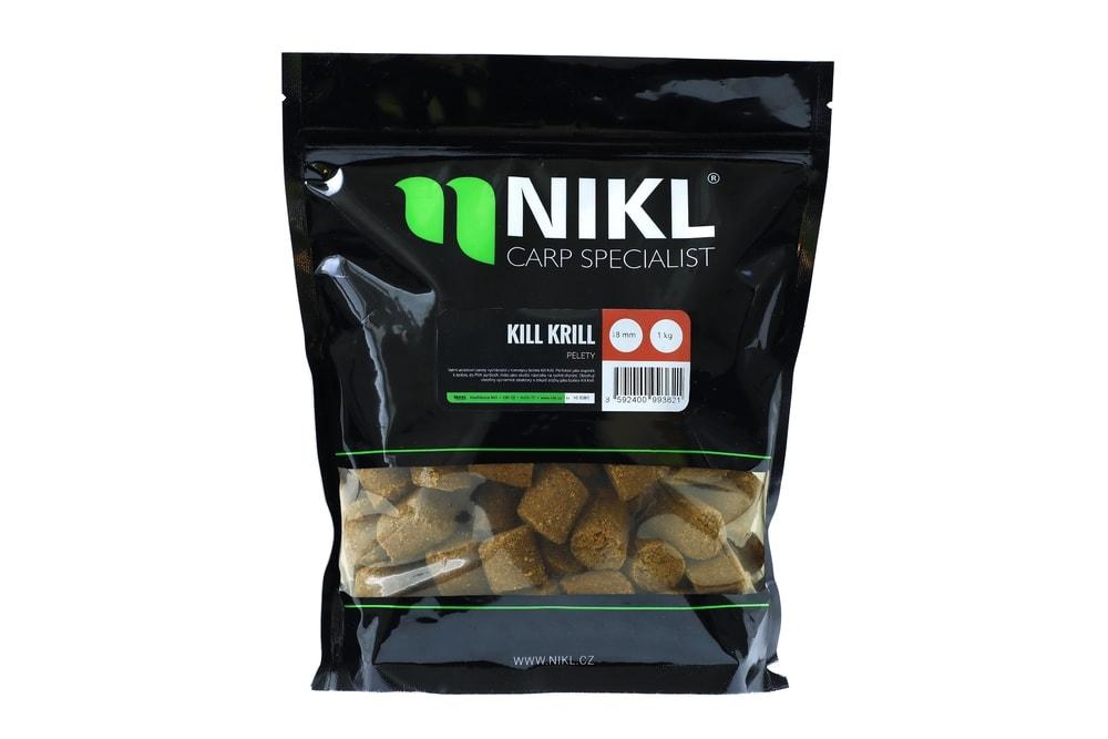 Nikl Pelety Kill Krill - 3mm 3kg