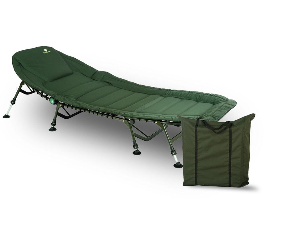 Giants Fishing Lehátko Specialist Plus 8Leg Bedchair + přepravní taška Zdarma!