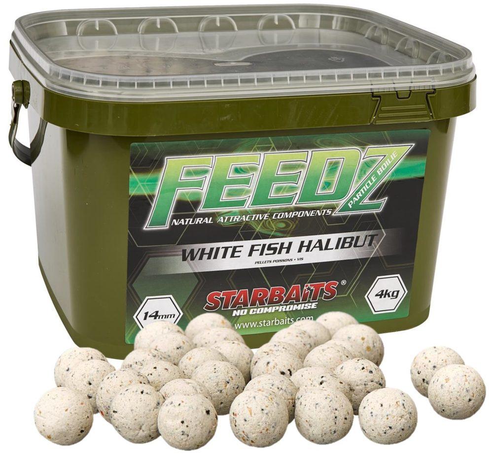 Starbaits Boilies FEEDZ White Fish Pellets 4kg