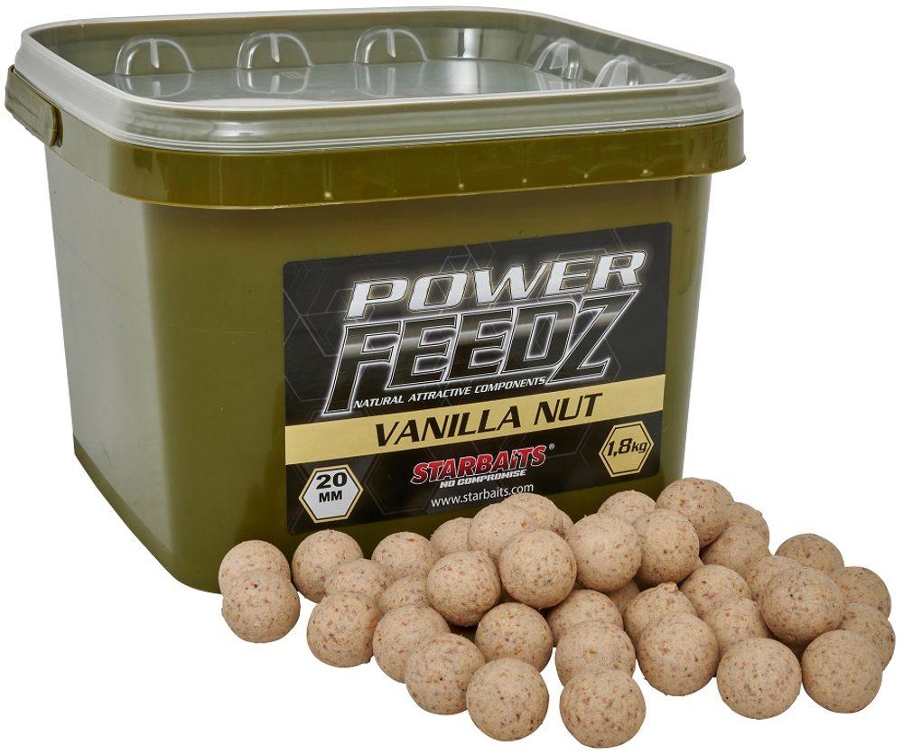 Starbaits Boilies Power FEEDZ Vanilla Nut 1,8kg