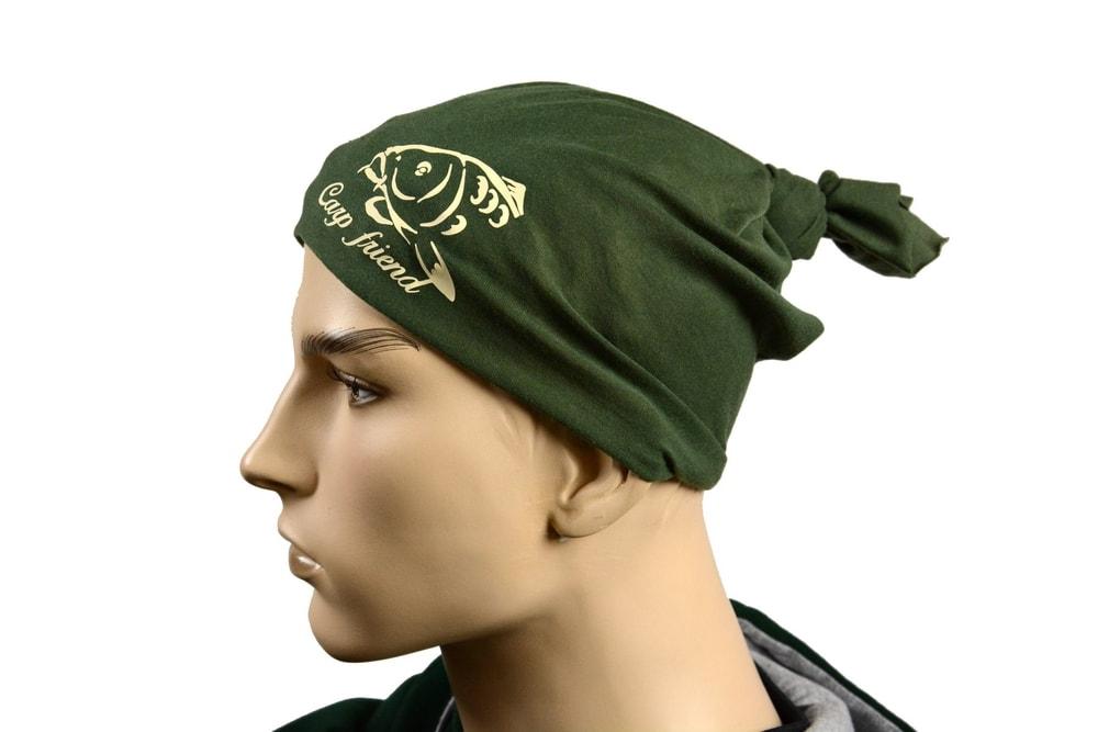 R-Spekt Multifunkční šátek Carp Friend khaki