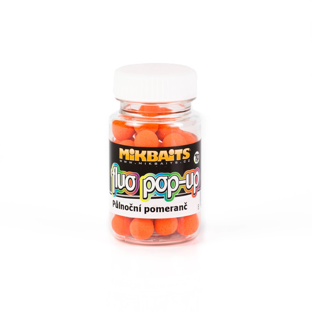 Mikbaits Plovoucí fluo boilie 10mm 60ml - Ananas N-BA