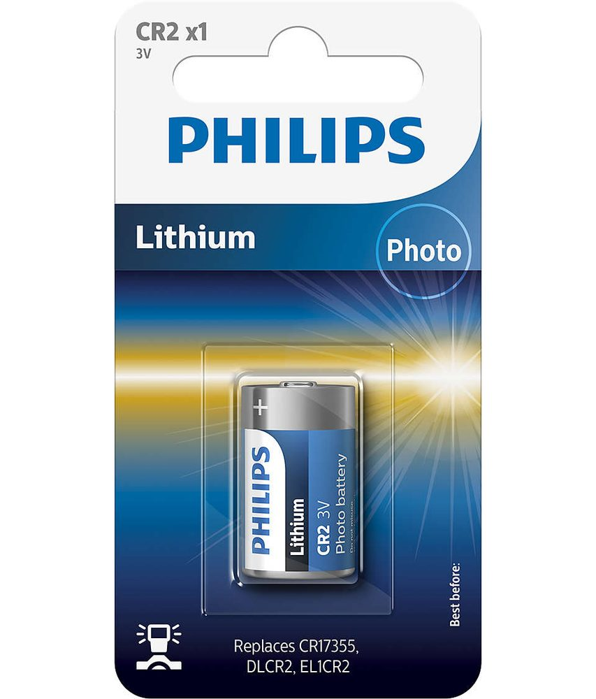 Philips Baterie CR2/3V 1ks - Philips CR2/3V 1ks CR2/01B