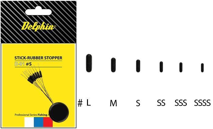 Delphin Zarážka Stick - Rubber Stopper - SSSS