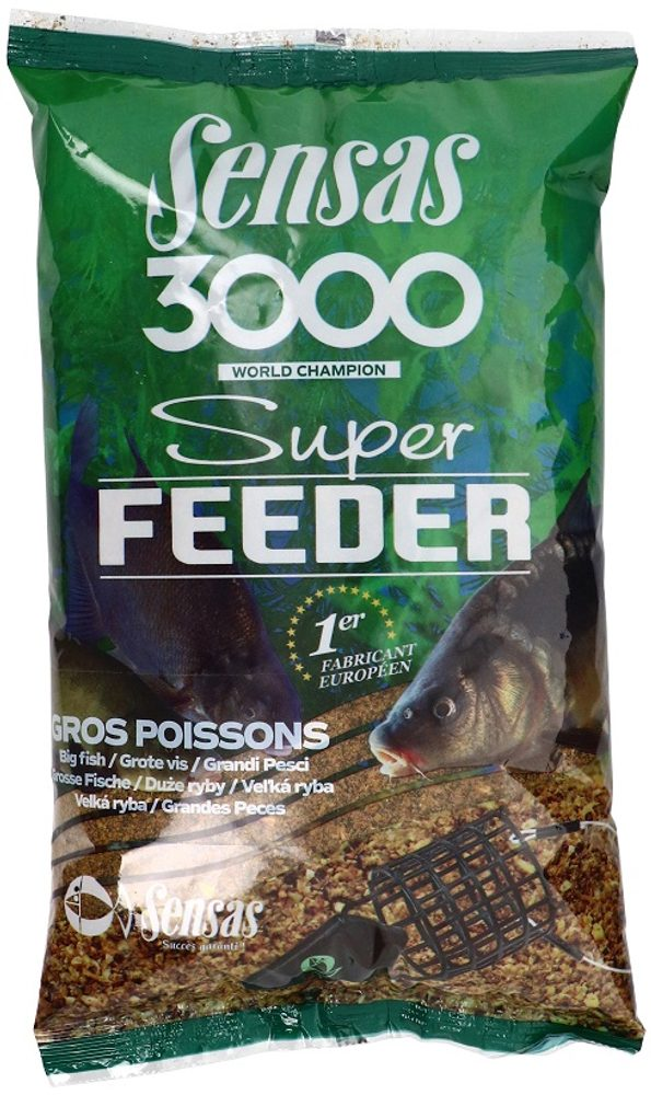 Sensas Krmítková směs 3000 Super Feeder 1kg