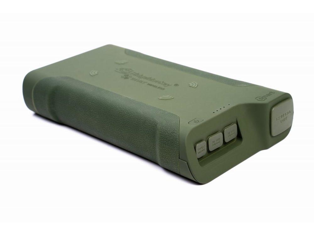 RidgeMonkey Powerbanka Vault C-Smart Wireless 77850mAh Green