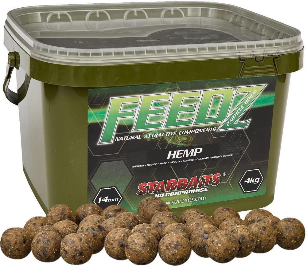 Starbaits Boilies FEEDZ Hemp 4kg