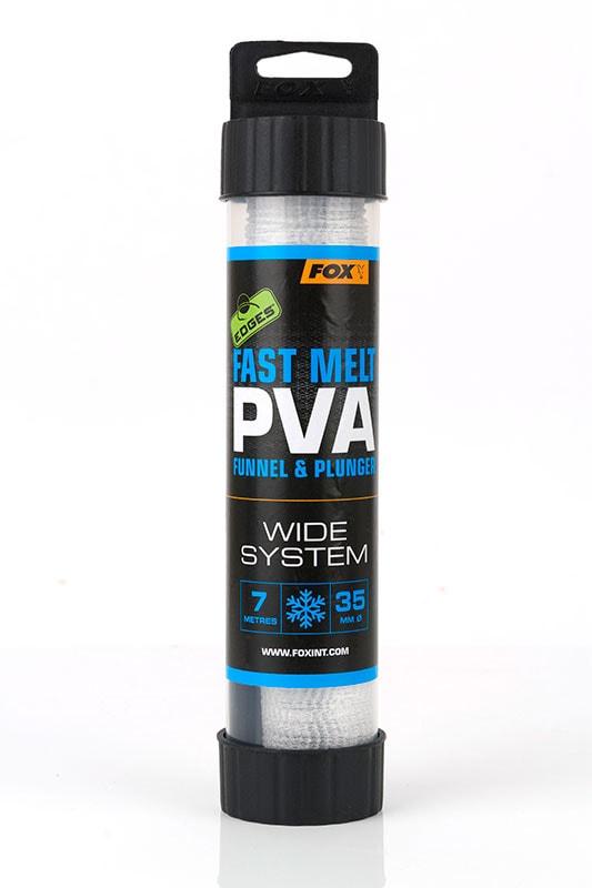 Fox PVA Punčocha EDGES Fast Melt PVA Mesh System 7m - 35mm Wide