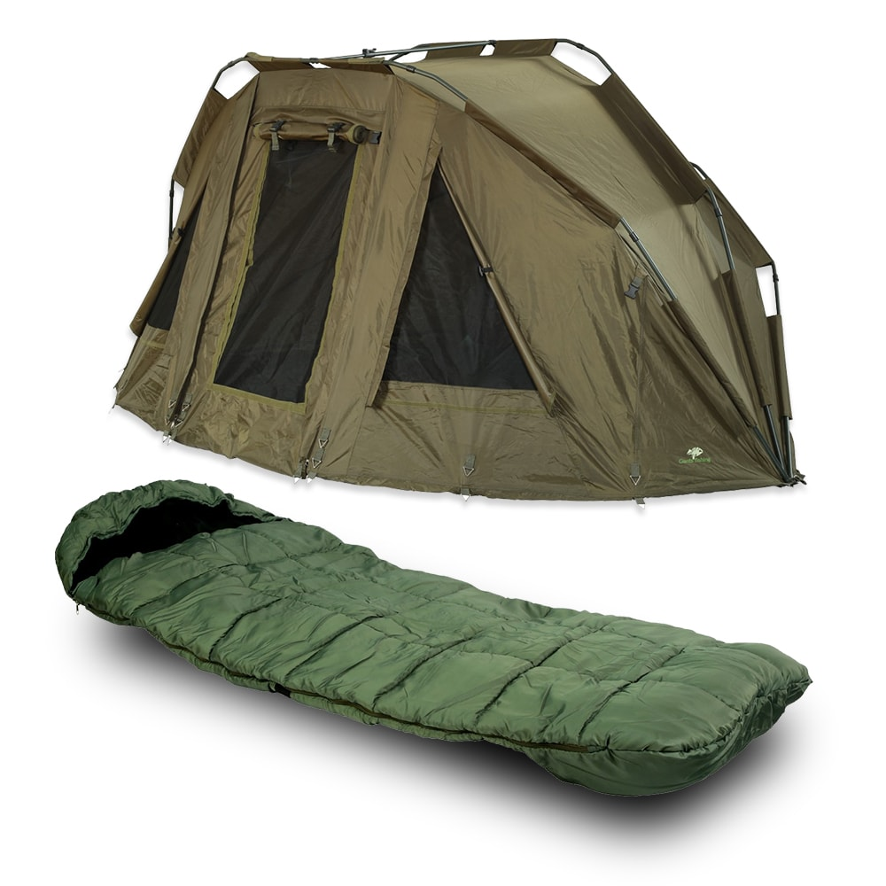 25c1bce2d Giants Fishing Bivak Specialist XT Bivvy 2 Man + spací pytel!