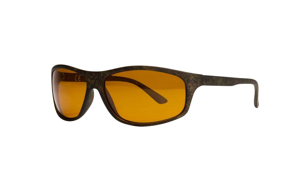 Nash Brýle Camo Wraps with Yellow Lenses