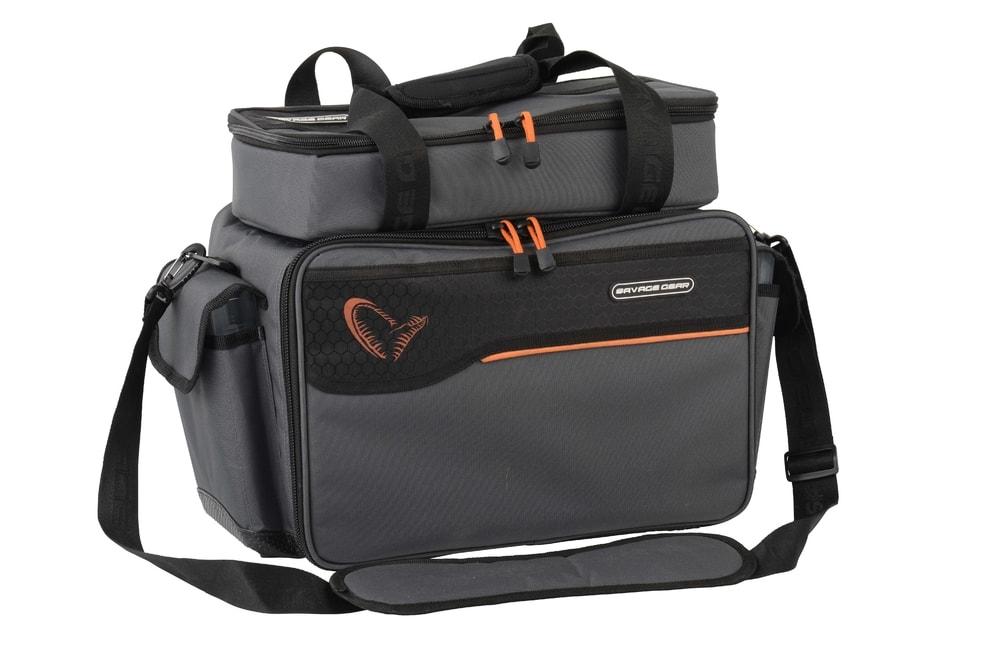 Savage Gear Taška na nástrahy Lure Bag L + 6 boxů