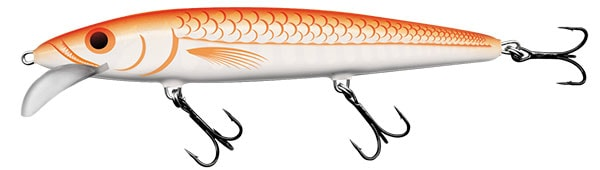 Salmo Wobler Whacky Floating 9cm - Ultraviolet Orange