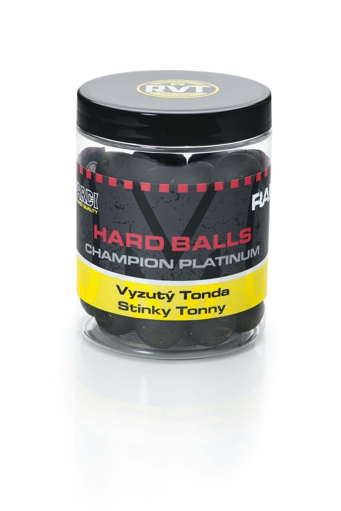 Mivardi Boilies Rapid Hard Balls Champion Platinum 150 g - Crazy Liver 18mm