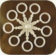 Extra Carp Silikonové kroužky na nástrahy Elastic Bands 8,5mm 18ks