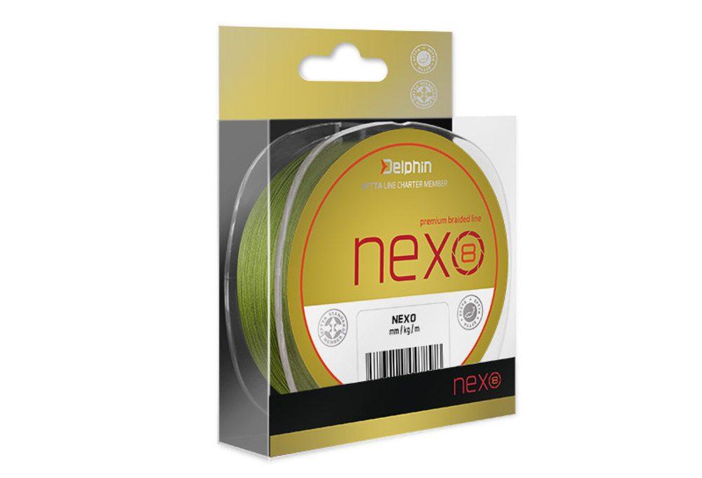 E-shop Delphin Šňůra Nexo 8 green - 0,08mm 11lbs 300m