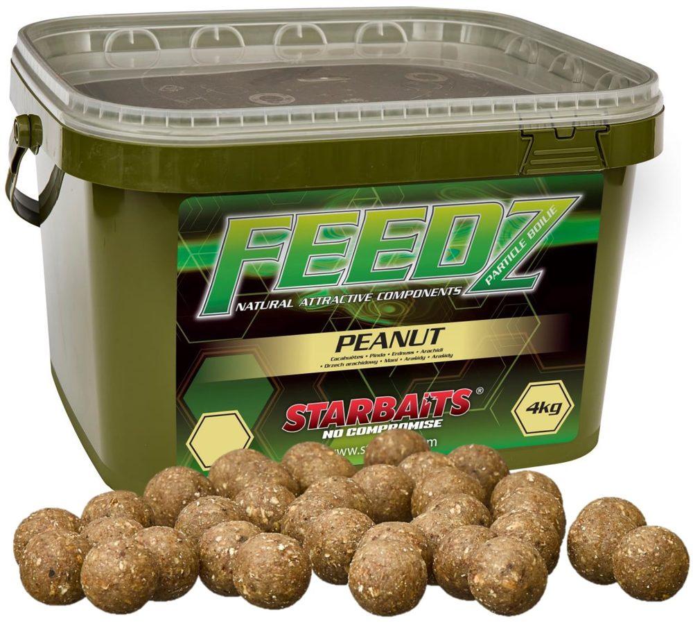 Starbaits Boilies FEEDZ Peanut 4kg