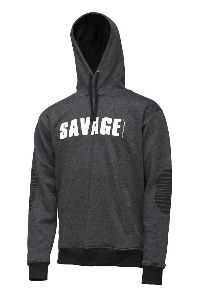 Savage Gear Mikina Logo Hoodie - XXL