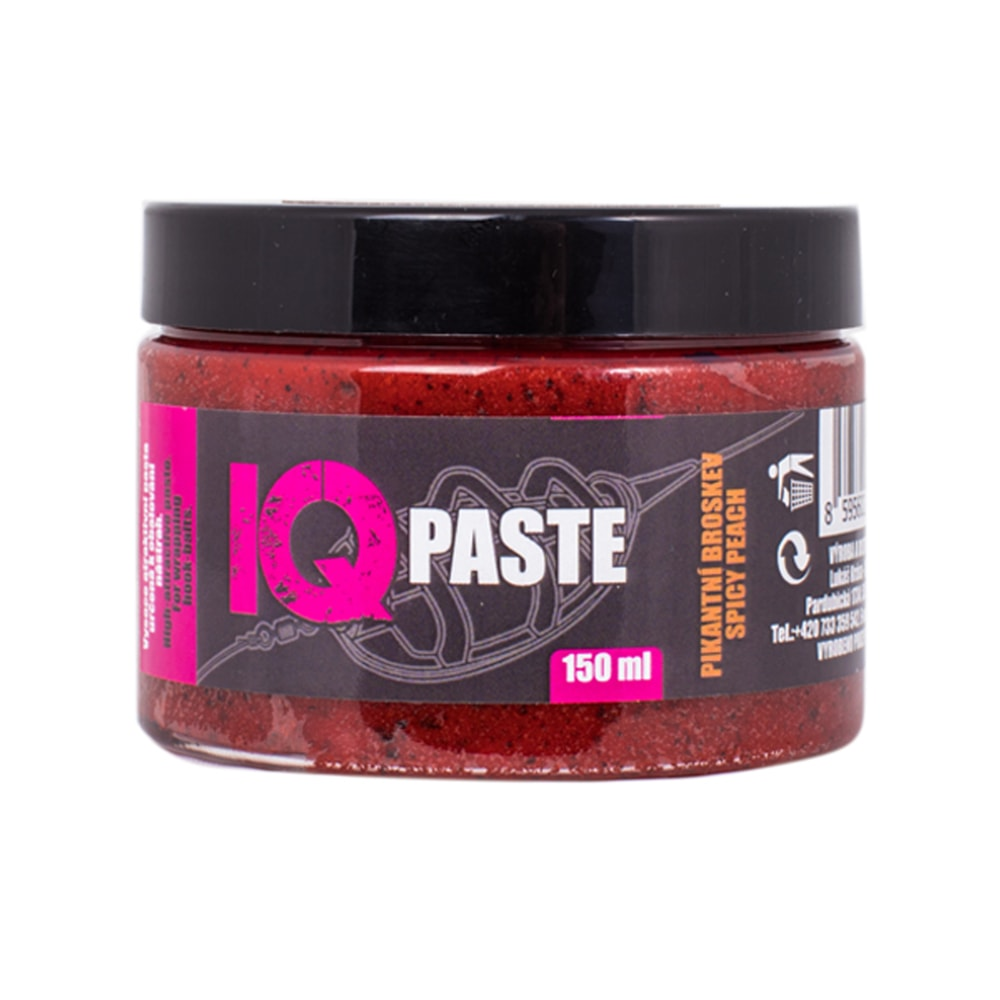 LK Baits Pasta IQ Method Paste 150ml - Pikantní broskev