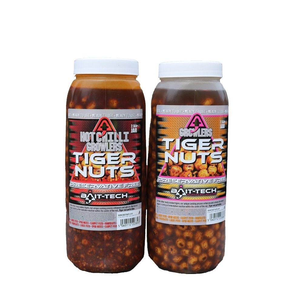 Bait-Tech Tygří ořech Growlers Tiger Nuts Jar 2,5L
