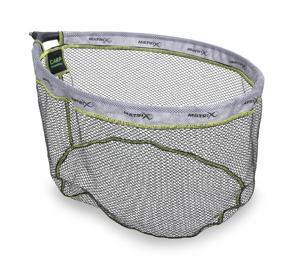 Matrix Podběráková Hlava Carp Rubber Landing Net - 50x40cm
