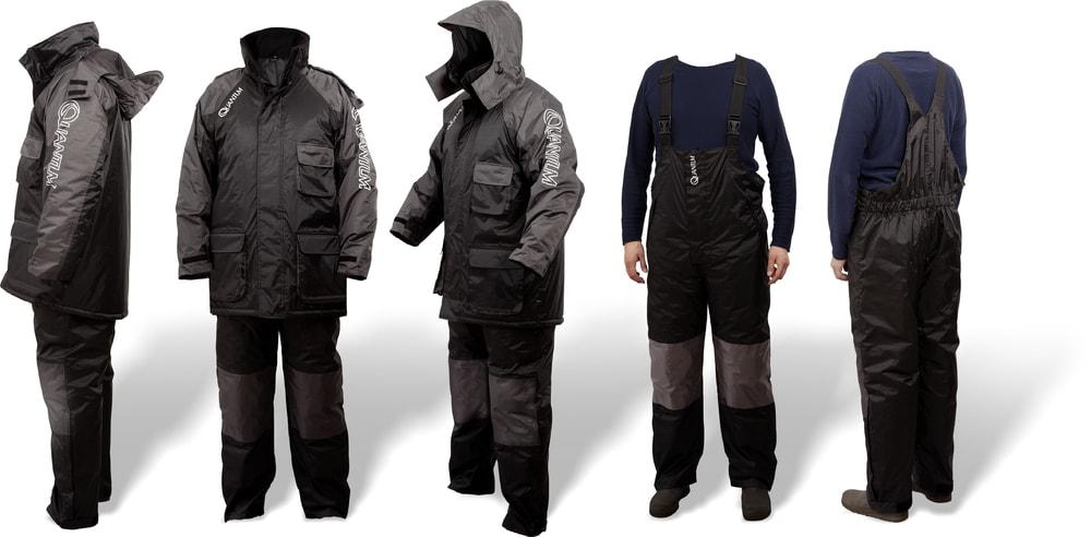 Lov kaprů na podzim s Quantum Termo Komplet Winter Suit Black/Grey