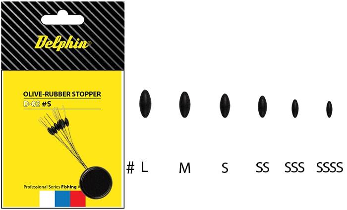 Delphin Zarážka Olive - Rubber Stopper - SSS