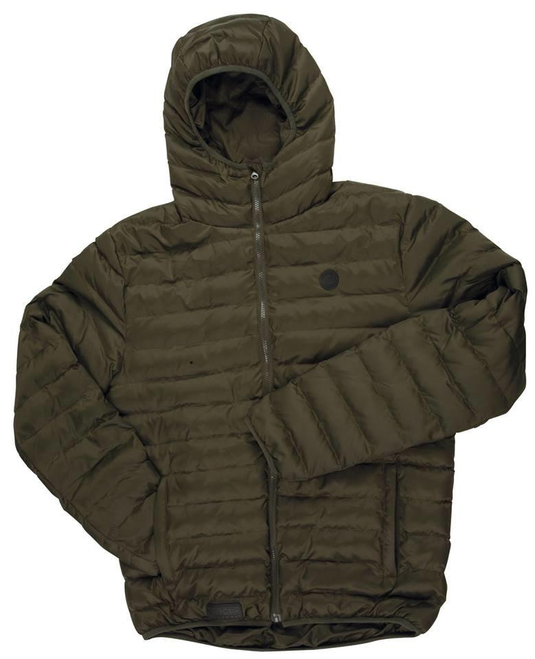 Fox Bunda Chunk Quilted Jacket Olive - vel. S